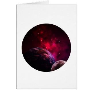 Cartão Galaxy Purple 1 - Gláxia roxa