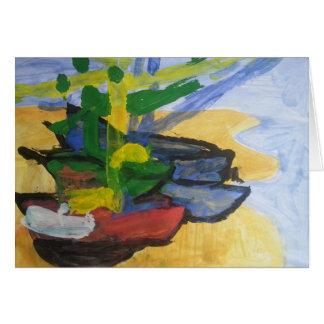 """Cartão Galeria de """"barcos de Smeraldo pesca """""""