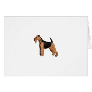 Cartão Galês Terrier