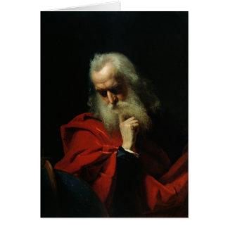 Cartão Galileo Galilei 1858