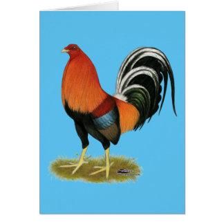 Cartão Galo Wheaten do Gamecock