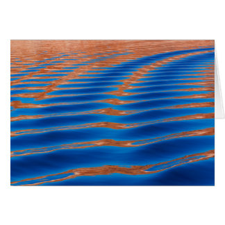Cartão Garganta do vale de Powell   do lago, UT