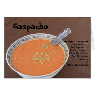 Cartão Gaspacho