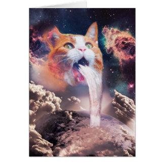 Cartão gato da cachoeira - fonte do gato - espace o gato