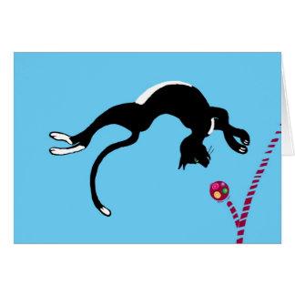 Cartão Gato de Backflip