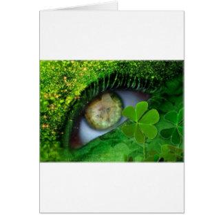 Cartão Gato de Claude do irlandês