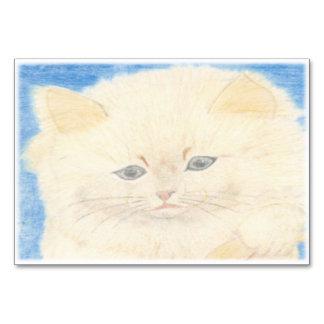 Cartão Gato Fofinho