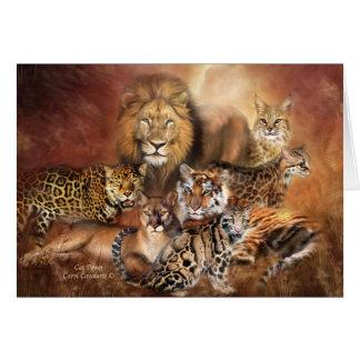 Cartão Gatos grandes ArtCard