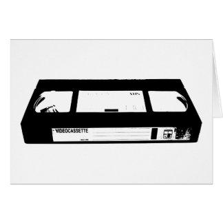 Cartão Gaveta video VHS