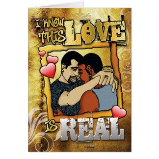 Cartão Gay - amor real