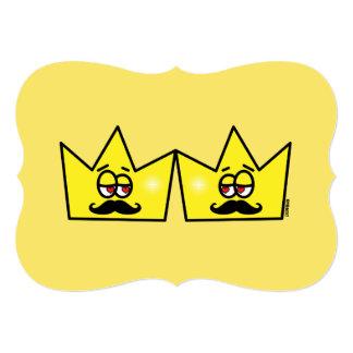 Cartão Gay Rei Coroa King Crown
