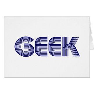 Cartão Geek