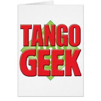 Cartão Geek v2 do tango