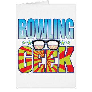 Cartão Geek v4 da boliche