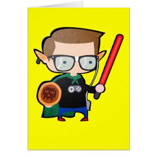Cartão Geeky