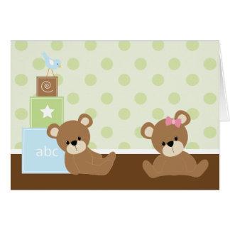 Cartão Gêmeos