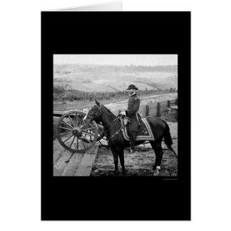 Cartão General William Tecumsah Sherman 1864
