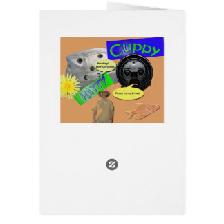Cartão genérico do fã elétrico