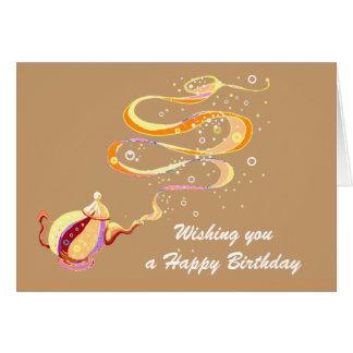 Cartão Génios do aniversário