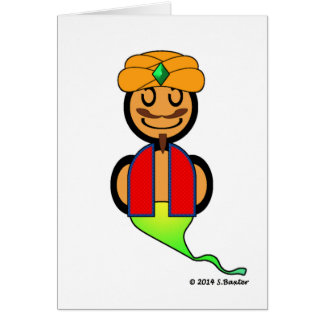 Cartão Génios (lisos)