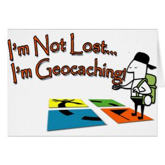 Cartão Geocahing