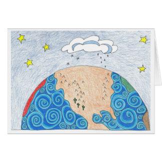 Cartão geografia física