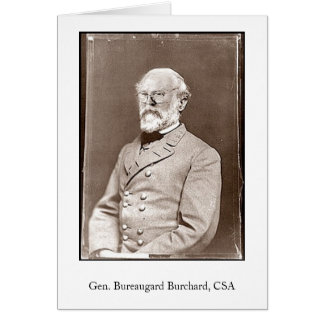 Cartão Gerador Bureaugard Burchard, CSA