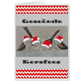 Cartão Geseende Kersfees