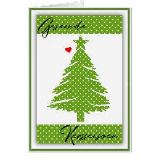 Cartão Geseende Kersseisoen