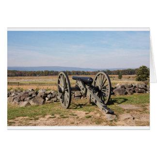 Cartão Gettysburg: Uma ideia da carga de Pickett