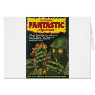 Cartão Ghoul verde gigante