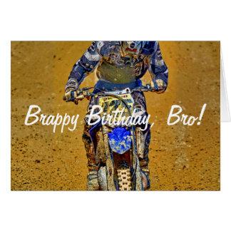 Cartão #Gift Sujeira-Biking do desenhista do campeão de