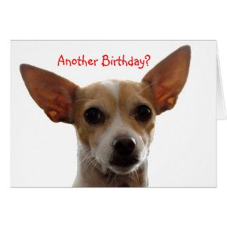 Cartão GiGi, um outro aniversário?