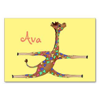 Cartão Ginástica do arco-íris pelos Feliz Juul Empresa