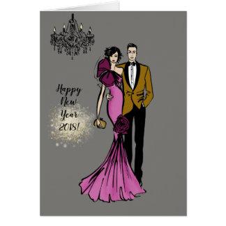 Cartão Glamour Couple