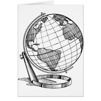 Cartão Globo do mundo
