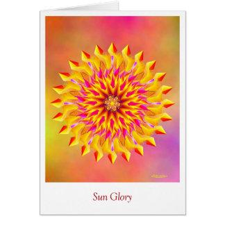 Cartão Glória de Sun
