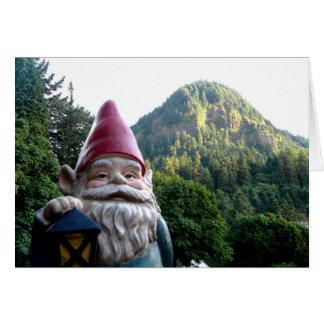 Cartão Gnomo da montanha