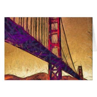Cartão Golden gate bridge