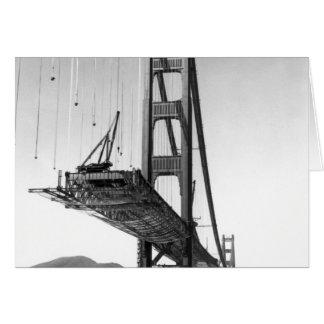 Cartão Golden gate bridge mim