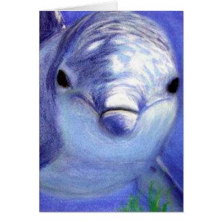 Cartão Golfinhos que tiram a imagem subaquática do