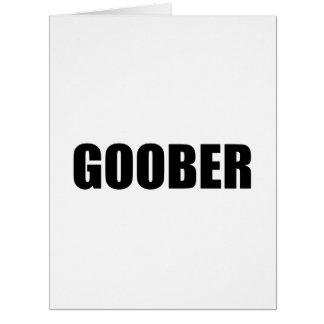 Cartão Goober