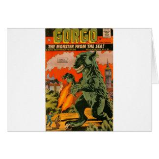 Cartão Gorgo o monstro do mar