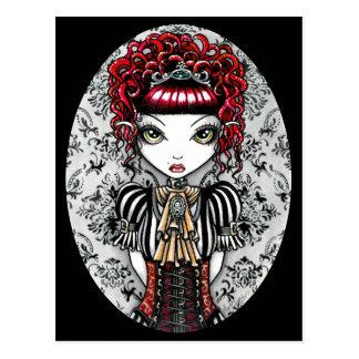 Cartão gótico de Fae do Victorian de Annie