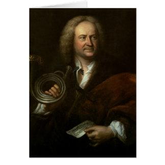 Cartão Gottfried Reiche, músico e de solo superiores