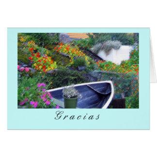 """Cartão """"Gracias """""""