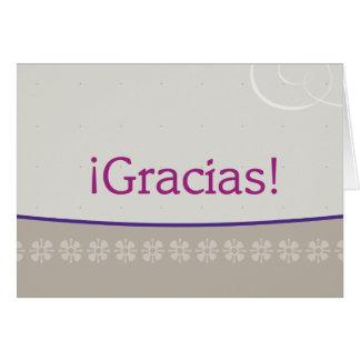 Cartão Gracias