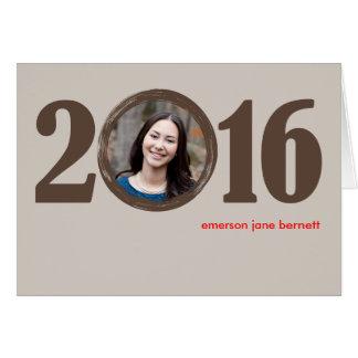 Cartão Graduação 2016 Notecard