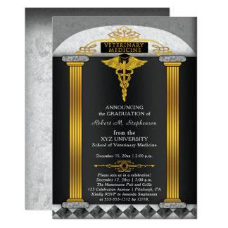 Cartão Graduação do veterinário da medicina veterinária