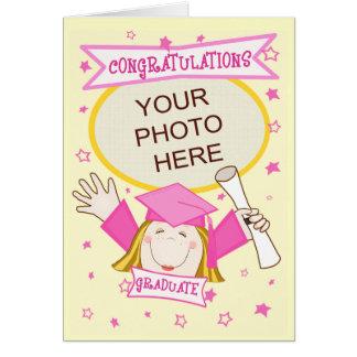 Cartão Graduação feita sob encomenda do
